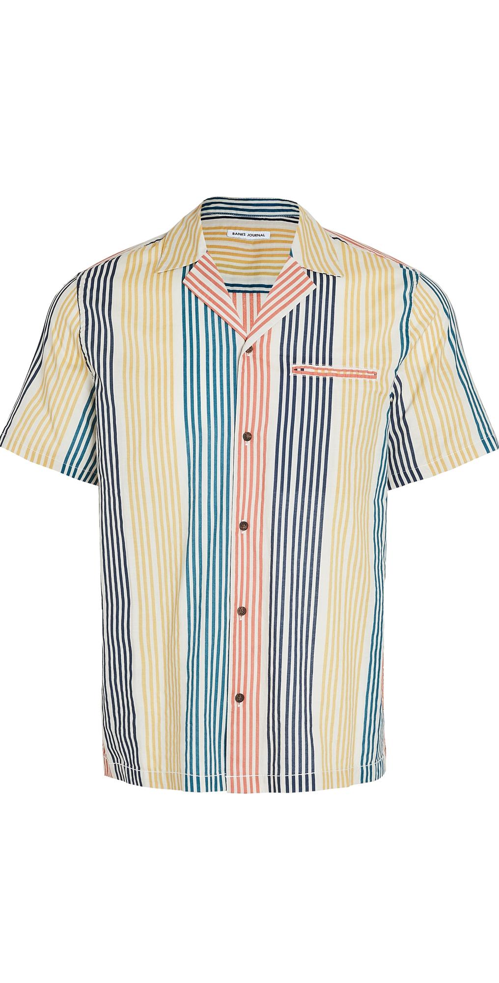 Short Sleeve Multiple Woven Shirt