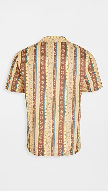 Banks Journal Short Sleeve Bloomsbury Woven Shirt