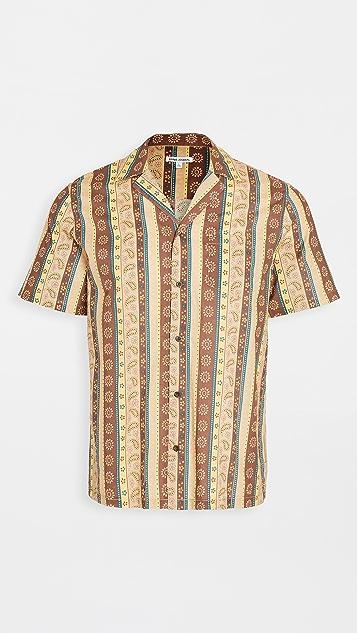 Banks Journal Short Sleeve Bloomsbury Woven Shirt