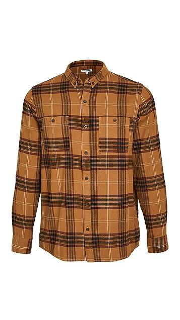Banks Journal Long Sleeve Vanish Woven Shirt