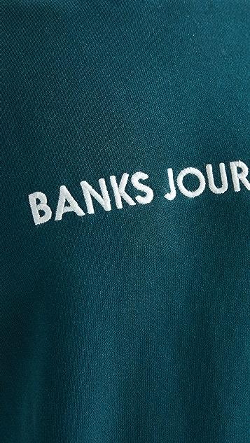 Banks Journal Long Sleeve Lable Fleece