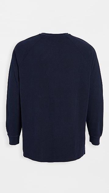 Banks Journal Preston Waffle Fleece Sweatshirt