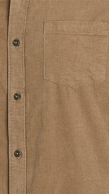 Banks Journal Roy Corduroy Long Sleeve Shirt
