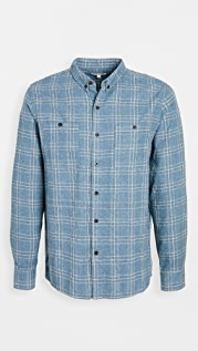 Banks Journal Plaid Brushed Flannel Shirt