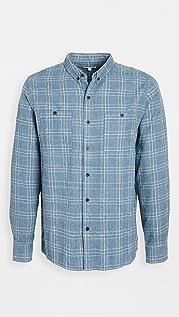 Banks Journal Plaid Brushed Flannel Shirt