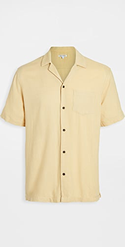Banks Journal - Brighton Camp Collar Short Sleeve Shirt