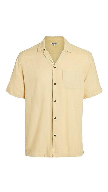 Banks Journal Brighton Camp Collar Short Sleeve Shirt