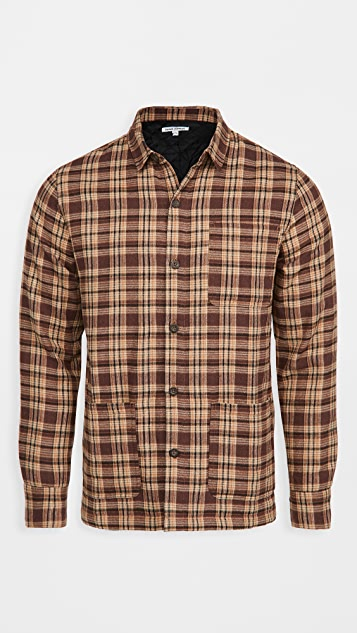 Banks Journal Duty Quilted Shirt Jacket