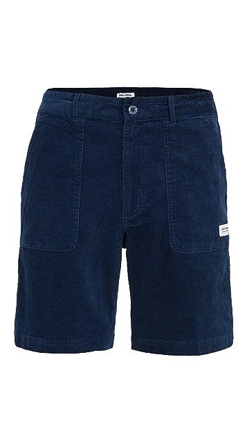 Banks Journal Big Bear Corduroy Camp Shorts