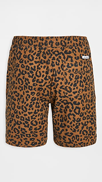 Banks Journal Wilder Elastic Boardshorts