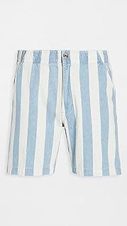 Banks Journal Sandon Stripe Walkshorts