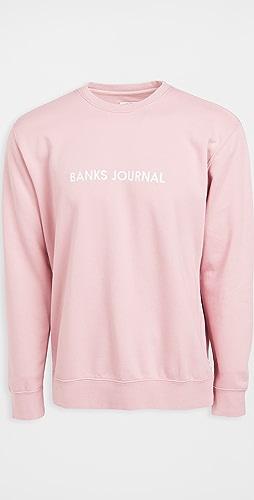 Banks Journal - Label Crew Sweatshirt