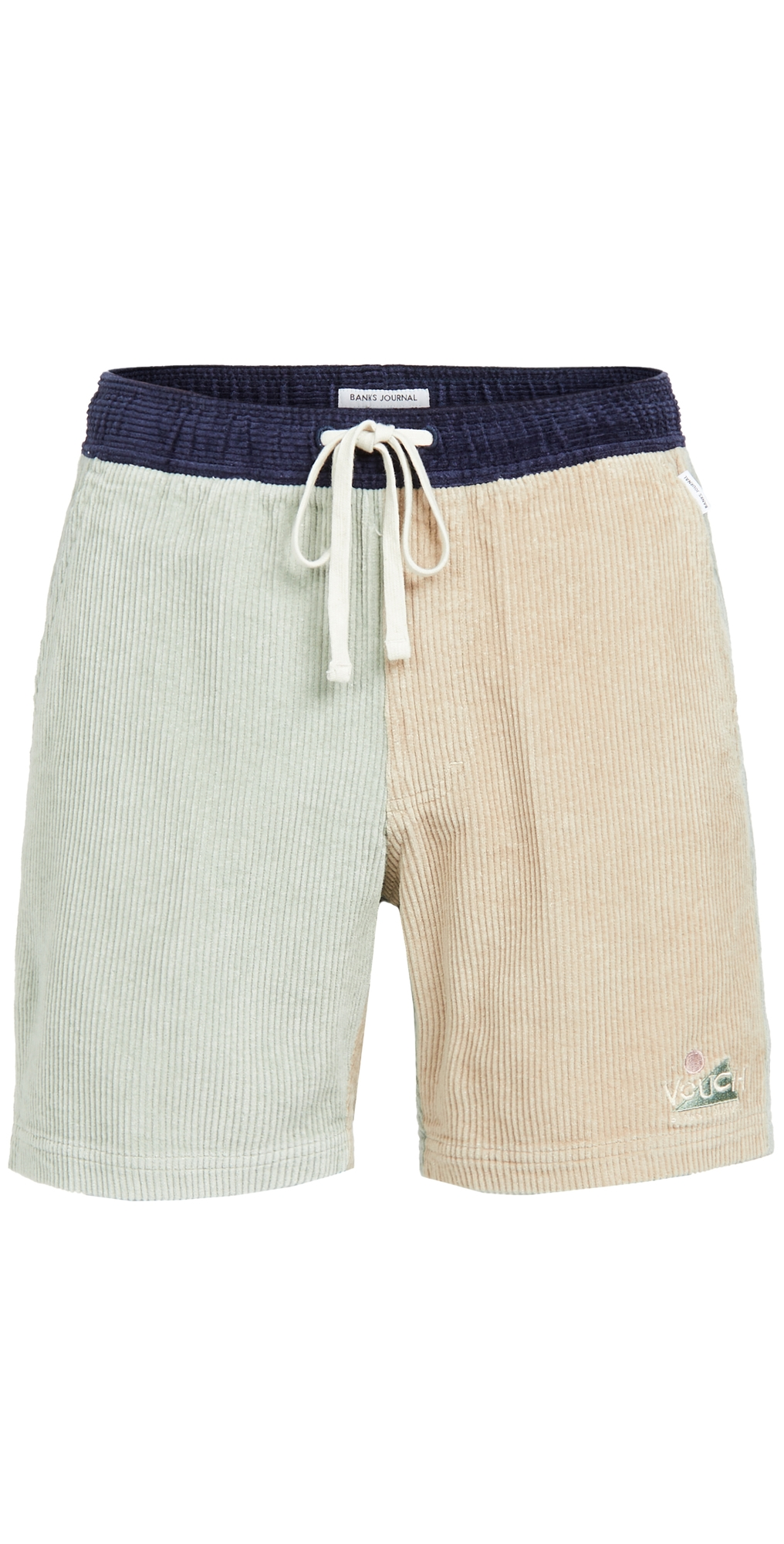 Vouch Cord Elastic Shorts