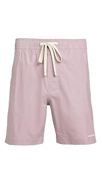 Banks Journal Label Elastic Shorts