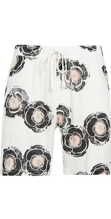 Banks Journal Sunflowers Linen Shorts