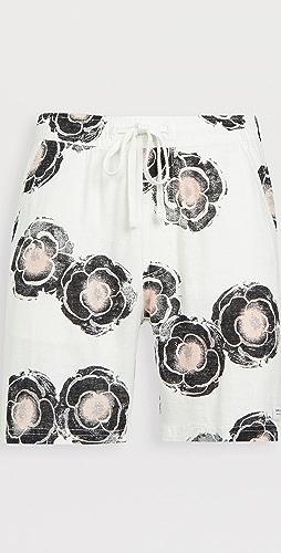 Banks Journal - Sunflowers Linen Shorts