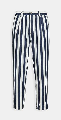 Banks Journal - Supply Chambray Stripe Pants