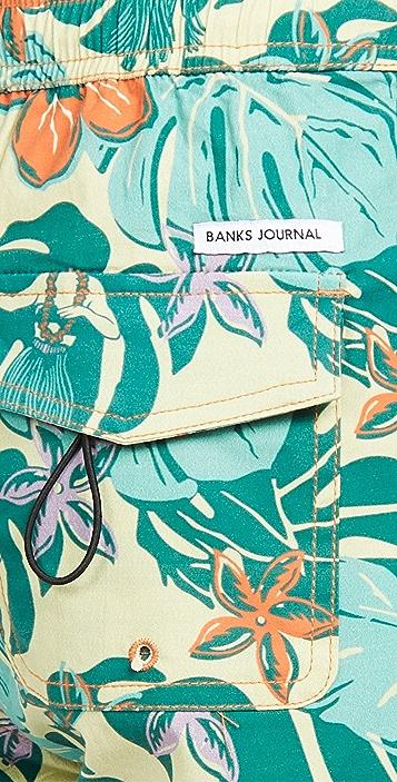 Banks Journal Lei Day Shorts
