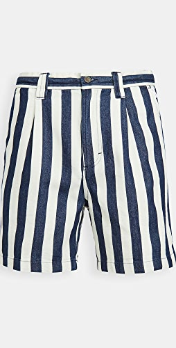 Banks Journal - Supply Chambray Stripe Shorts