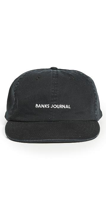 Banks Journal Label Cap