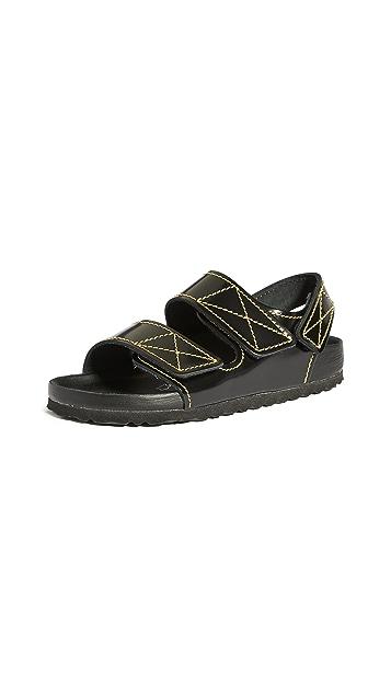 Birkenstock x Proenza Schouler Milano PS EXQ NL 露后帮凉鞋