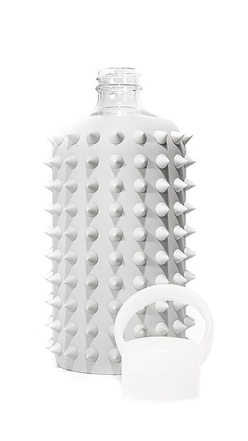 bkr 16oz Spiked Glass Water Bottle