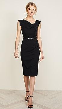 Jackie O Belted Dress