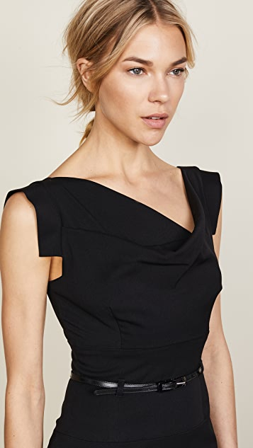 Black Halo Jackie O Belted Dress | SHOPBOP