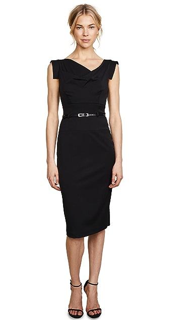 Black Halo Платье с поясом Jackie O