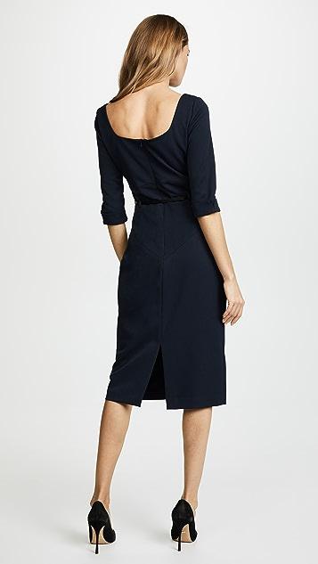 Black Halo 3/4 Sleeve Jackie O Dress