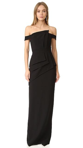 Black Halo Eve La Reina Gown