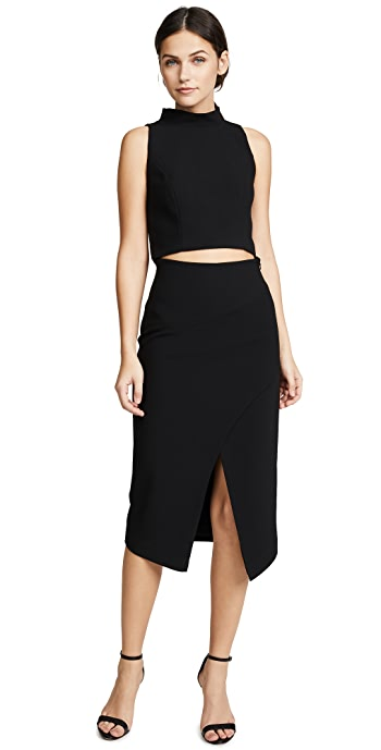Black Halo Juma Two Piece Dress - Black