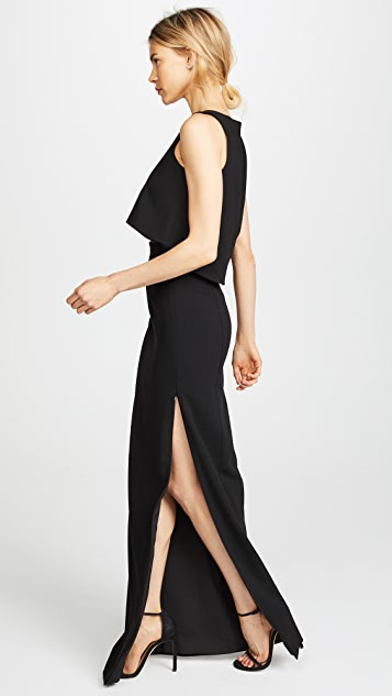 Black Halo Kacie 两件式长连衣裙