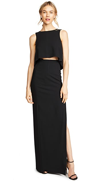 Black Halo Kacie 2 Piece Maxi Dress