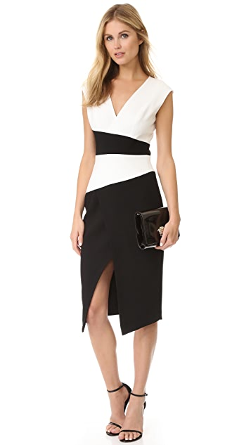 Black Halo Evia Sheath Dress