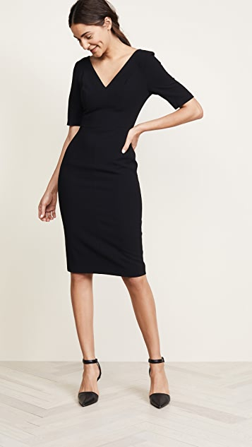 Black Halo Jeanette Sheath Dress