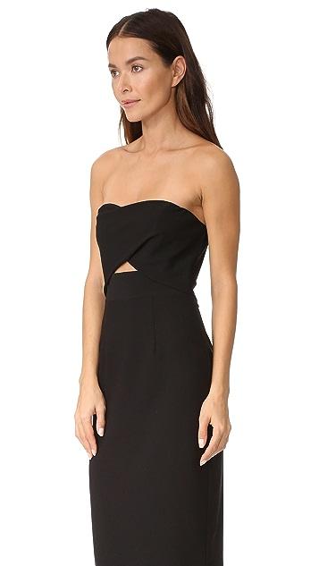 Black Halo Jada Cutout Dress