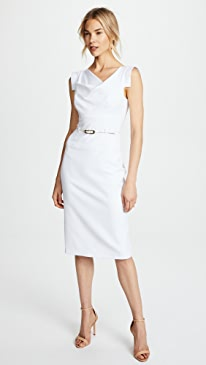 Jackie O Belted Dress