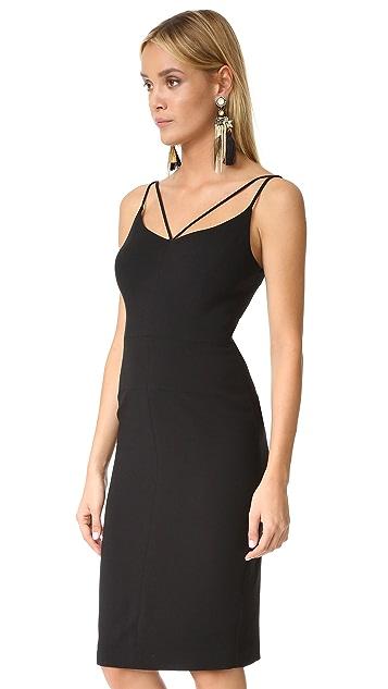 Black Halo Uma Sheath Dress