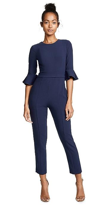 Black Halo Brooklyn Jumpsuit - Pacific Blue