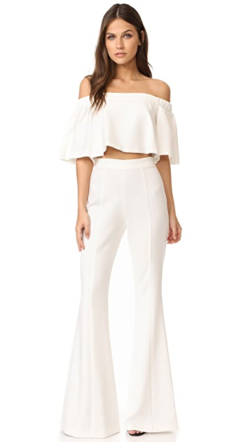 Black Halo Hadid Two Piece Jumpsuit Shopbop