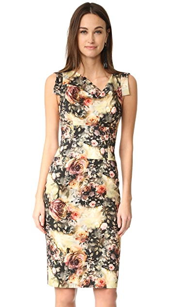 57431db0 Black Halo Jackie O Belted Dress | SHOPBOP