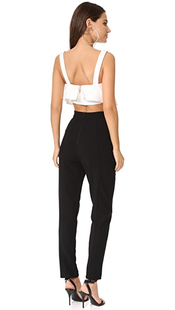 Black Halo Eastwood 2 Piece Jumpsuit