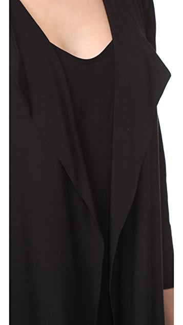Black Halo Cassini Slip Dress with Duster