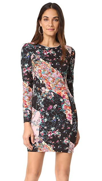 Black Halo Lively Mini Dress