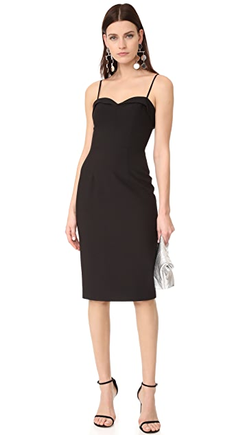Black Halo Clover Sheath Dress