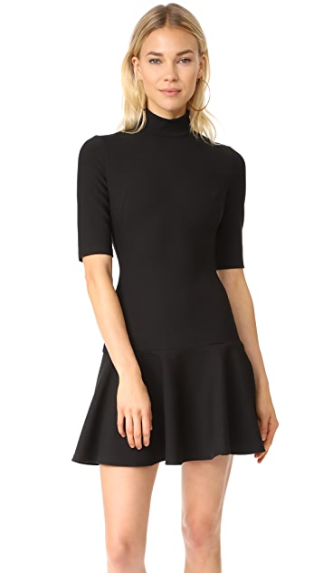 Black Halo Reeder Dress - Black