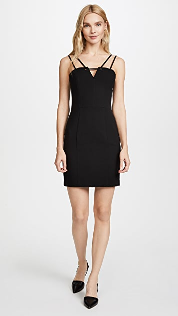 Black Halo Delia Mini Dress