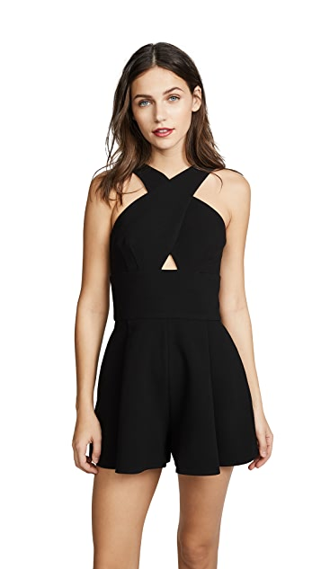 Black Halo Kari Romper