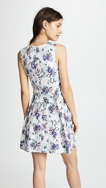 Black Halo Landon Mini Dress